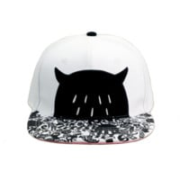 Monster Snapback Hat