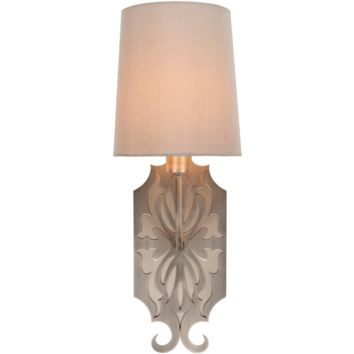 Roxy Wall Sconce ~ Brushed Steel