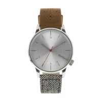 Komono - Winston Galore Walnut / Herringbone Watch