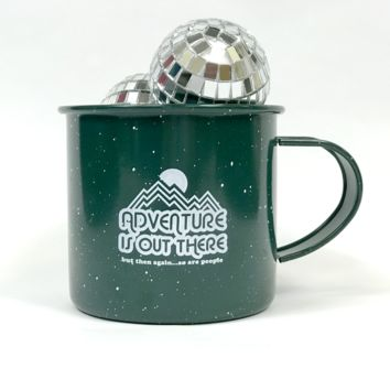 Adventure Is Out There, But Then Again...So Are People Camping Mug