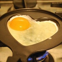 Heart Shaped Egg Pan - $8 | The Gadget Flow