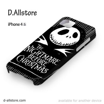 The Nightmare Before Christmas for Iphone 4/4S Iphone 5/5S/5C Iphone 6/6S/6S Plus/6 Plus 3D Phone case