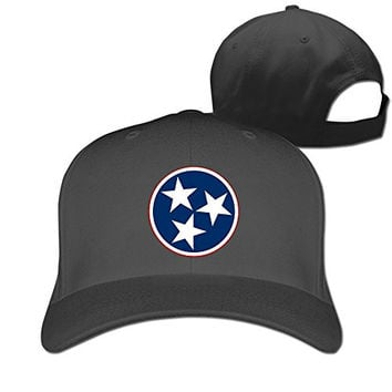Usa Tennessee Flag Volunteer State Adjustable Fitted Hat Trucker Caps