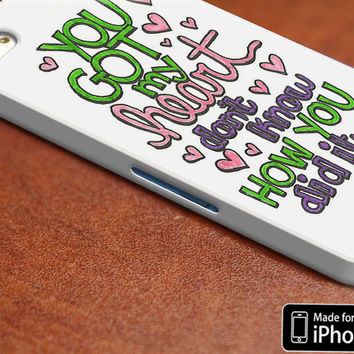 Ariana Grande Lyric Case - iPhone 4/4S iPhone 5/5S/5C and Samsung Galaxy S3/S4 Cover