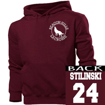 Teen Wolf Stilinski 24 hoodie unisex adults size s-4xl