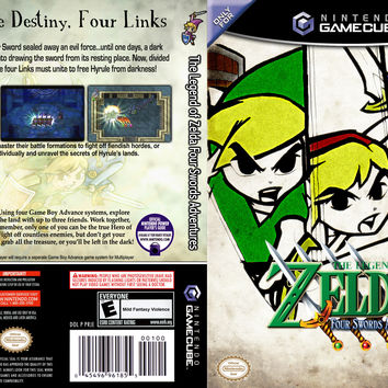 Zelda Four Swords Adventure (no cable) - Gamecube (Game Only)