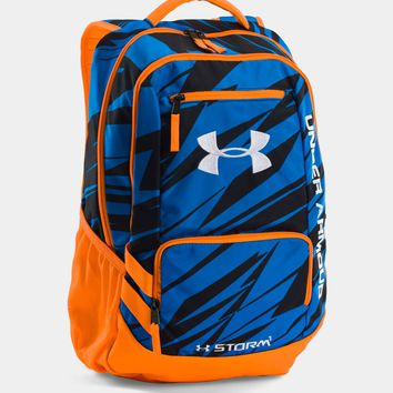 Under Armour Storm Hustle II Backpack in Blue Jet 1263964-405