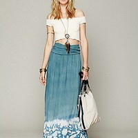 Blu Moon  Convertible Tie Dye Skirt at Free People Clothing Boutique