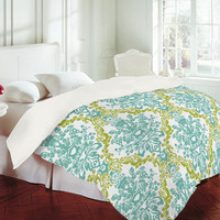 DENY Designs Home Accessories | Rebekah Ginda Design Lovely Damask Duvet Cover Sale Item