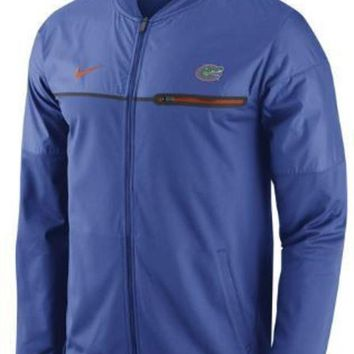 ONETOW NCAA Florida Gators Nike Blue Windbreaker Full Zip