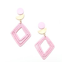 Around Here Woven Earring