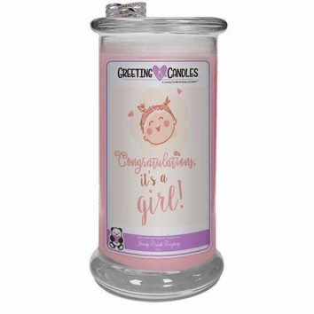 Congrats, It's A Girl ! | Jewelry Greeting Candles