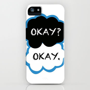 Okay? Okay. (The Fault in Our Stars) iPhone & iPod Case by FANDOM FUSION | Society6