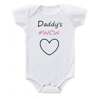 Daddy's WCW/ #WCW/ Woman Crush Wednesday/ Onesuit/ T-shirt