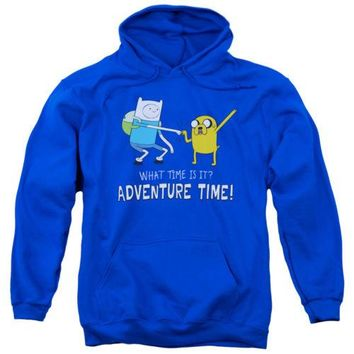 Adventure Time Fist Bump Licensed Adult Hoodie