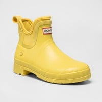 Hunter for Target Women's Waterproof Ankle Boots - Yellow