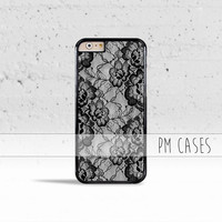 Floral Lace Design Case Cover for Apple iPhone 4 4s 5 5s 5c 6 6s SE Plus & iPod Touch
