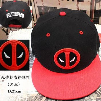 Deadpool Cosplay Cap