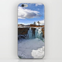 Ice Landscape iPhone Skin by magikol