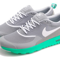 Nike Air Max Thea Print Casual Sports Shoes Grey&green