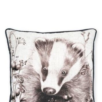 Buy Sketched Badger Cushion online today at Next: Deutschland