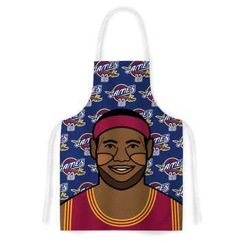"Will Wild ""Lebron James"" Basketball Artistic Apron"
