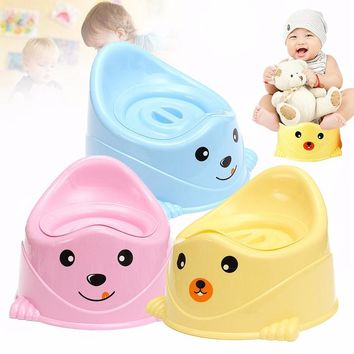NEW Portable Car Children Boys Girls Baby Potty Toilet Seat Kids Potty Trainers Care Cover Urinal Chair Bathroom Products