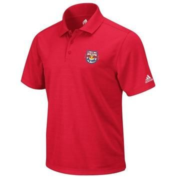 adidas New York Red Bulls Red Soccer Team Primary Polo Shirt