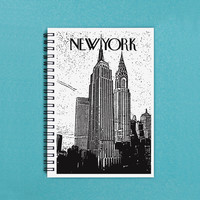 "Travel Journal - New York - 5"" x 7"" Travel journal, notebook, diary, sketch book, scrapbook, New York City, NYC, adventure, memory, book"