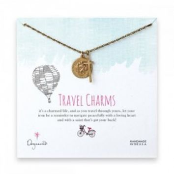 ST. CHRISTOPHER CROSS NECKLACE