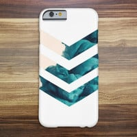 Blue Smoke Chevron Case for iPhone 6 6+ iPhone 5 5s 5c iPhone 4 4s and Samsung Galaxy s5 s4 & s3