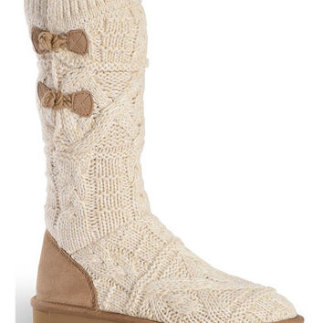 UGG Women's Fawn Kalla Knit Boots - Round Toe