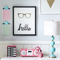 New York Hello Glasses Frame
