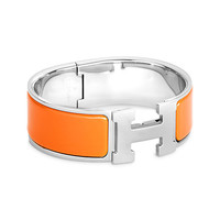 Enamel Jewelry Hermès Yellow - H Bracelets - Jewelry & Watches | Hermès, Official Website