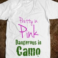 PRETTY IN PINK DANDEROUS IN CAMO
