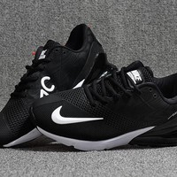 Men Nike Air Max 270 Black/White Special Edition