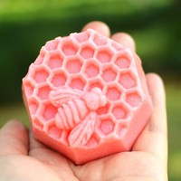 Honey Bee Silicone Soap Mold