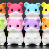 Set of 8 Series One Hamster Erasers