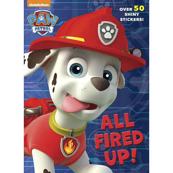 Paw Patrol All Fired Up! Color & Activity Book