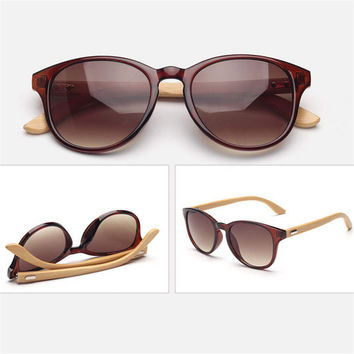 Hand Made Wayfarer Bamboo Wood Sunglasses 05