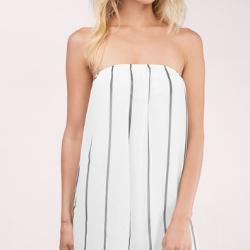 Glimmer Of Hope Strapless Dress