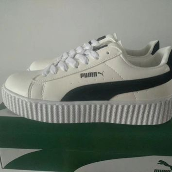 """Puma"" Unisex Sport Casual Fashion Multicolor Low Help Plate Shoes Couple Sneakers"