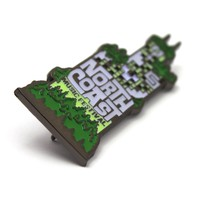 The 2017 Official NCMF 'Urban Jungle' Glowing Pin