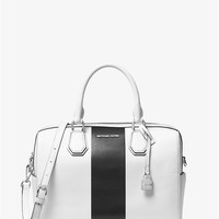 Mercer Medium Leather Duffel | Michael Kors