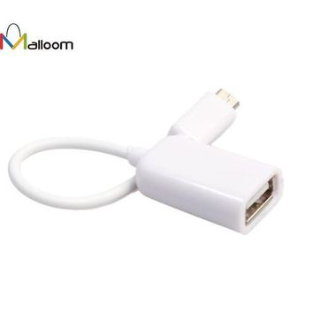 ICIKJY1 New Arrival USB 2.0 A Female to Micro B Male Adapter Cable USB HUB Micro USB Host Mode OTG Cable #20