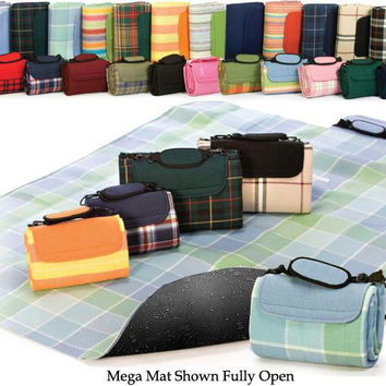 Picnic Mega Mat - Nautical Navy