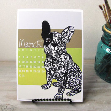 Animal Zentangle Calender 2014 - 2015