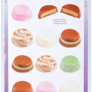 11 cavity candy mold - peanut butter cup