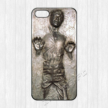 Han Solo iPhone 5 Case,Frozen in Carbonite iPhone 5 5s Hard Plastic Rubber Case,Star Wars cover skin case for iphone 5/5s case,More styles