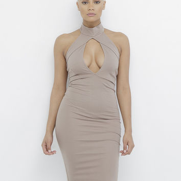 LOVERS ROCK CUTOUT BODYCON DRESS